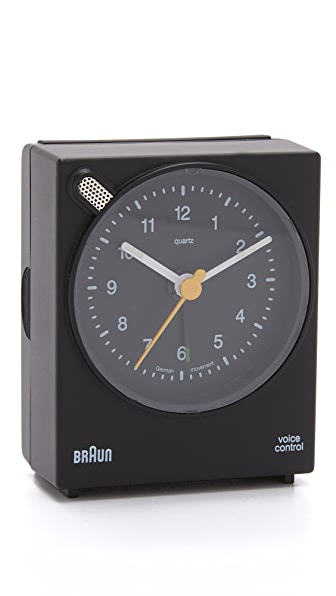 Braun Voice Activated Alarm Clock