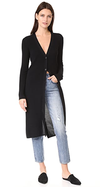 Brochu Walker Bowery Cardigan - Black Onyx