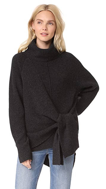 Brochu Walker Bree Wrap Sweater