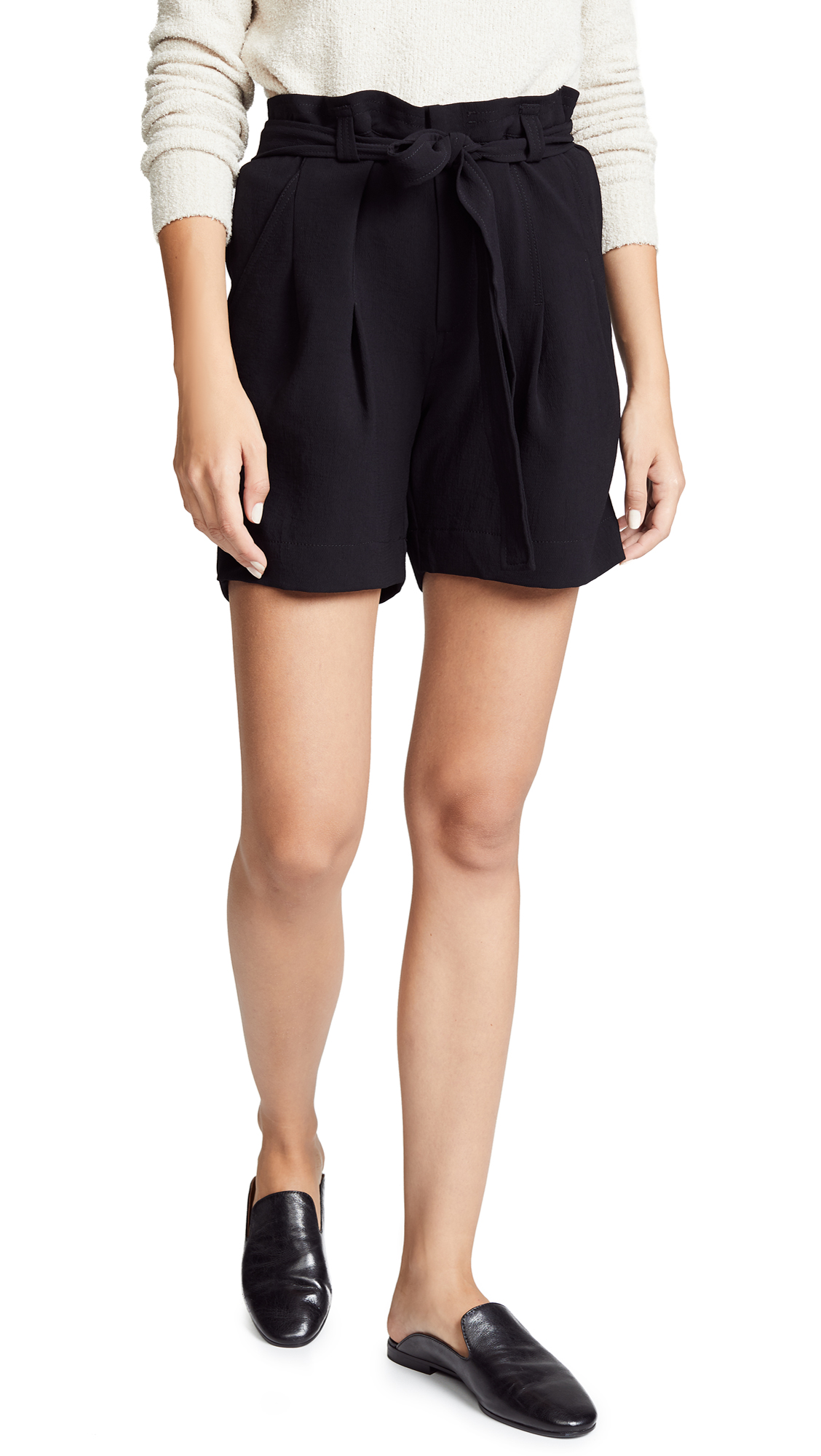 Brochu Walker Verna Shorts In Black Onyx