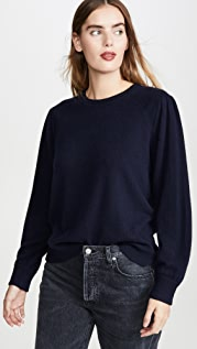 Brochu Walker Lorne Crew Cashmere Sweater