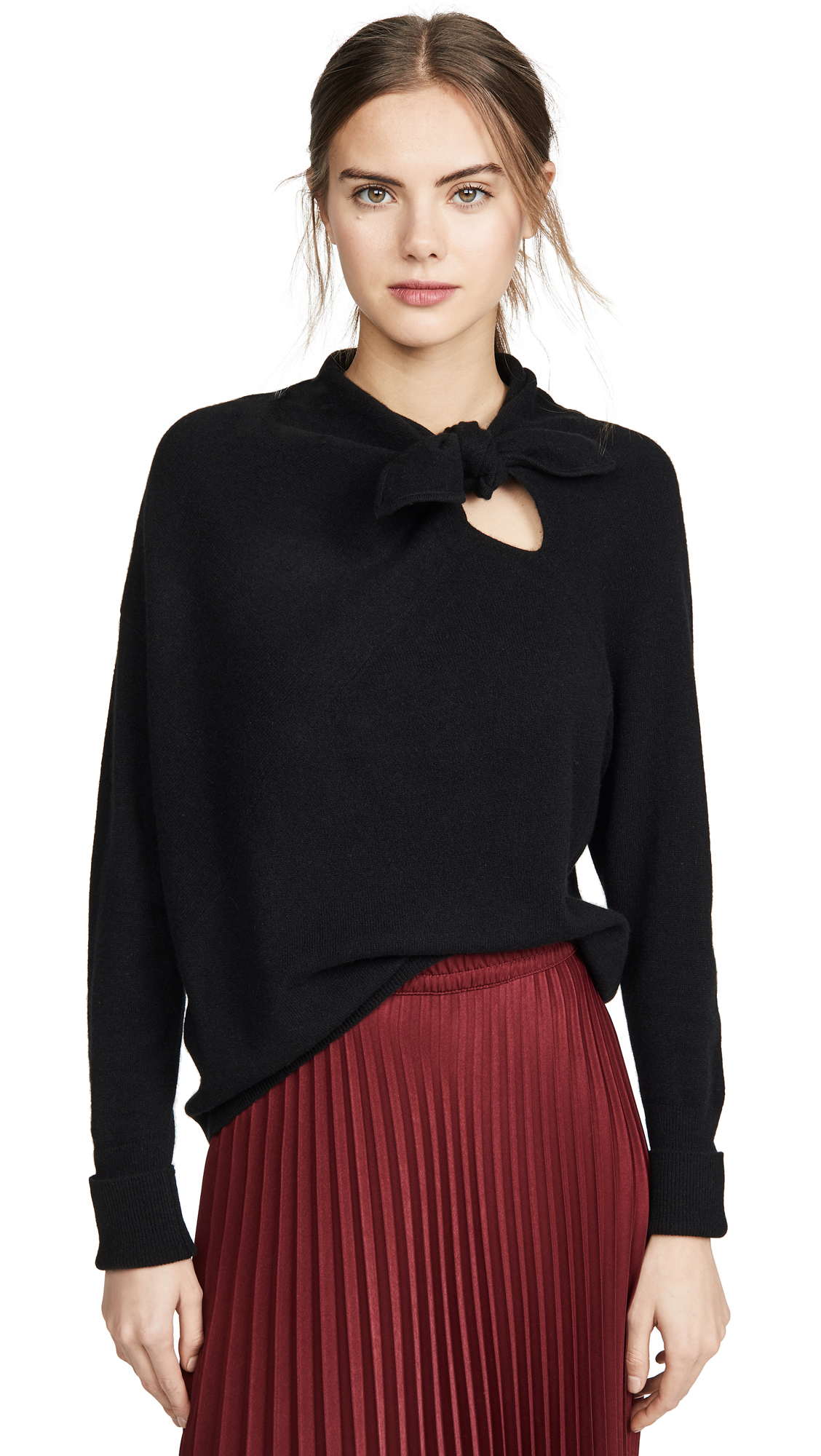 Buy Brochu Walker online - photo of Brochu Walker Cleo Tie Cashmere Pullover