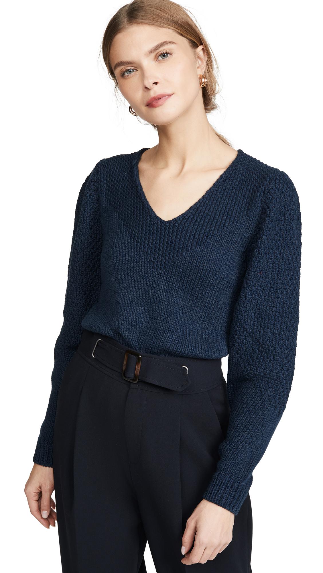 Buy Brochu Walker online - photo of Brochu Walker Kara V Sweater
