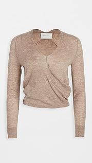Brochu Walker Asta Cashmere Wrap Sweater