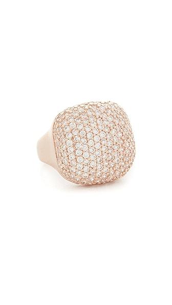 Bronzallure Shiny Squared CZ Ring