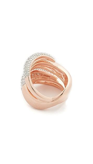 Bronzallure Flame Ring