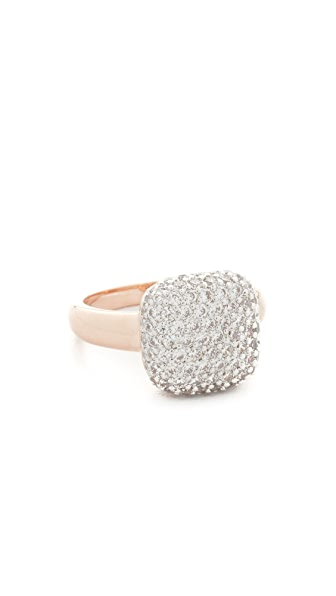 Bronzallure Squared Dangle Ring