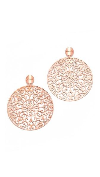 Bronzallure Rokoko Arabesque Earrings