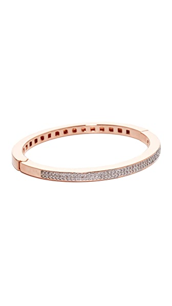 Bronzallure Altissima Shiny Bangle Bracelet - Rose Gold