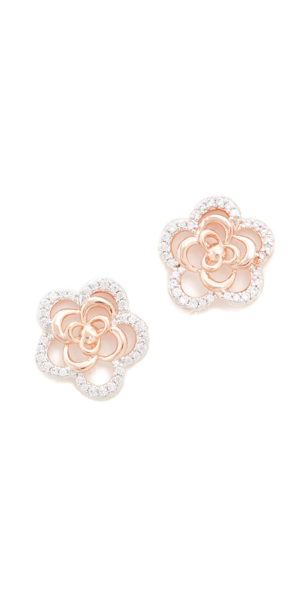 Alba Flower Earrings Bronzallure
