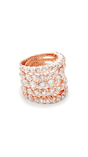 Bronzallure Altissima Ring - Rose Gold/CZ