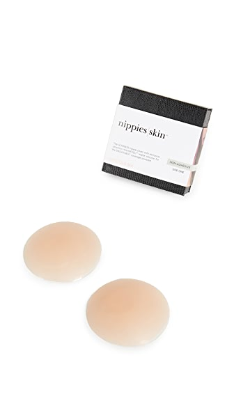 Bristols 6 Non Adhesive Nippies Skin Covers In Medium