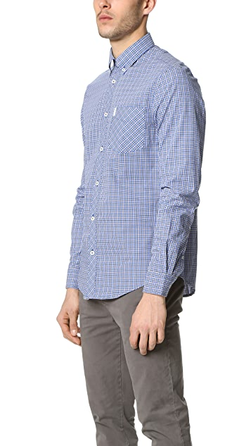 Ben Sherman Plaid Button Down Shirt