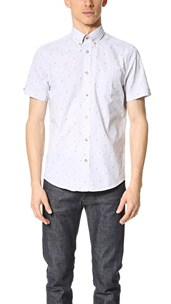 Ben Sherman Cone Short Sleeve Shirt