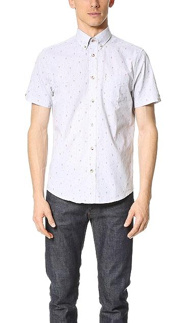 Ben Sherman Cone Short Sleeve Shirt