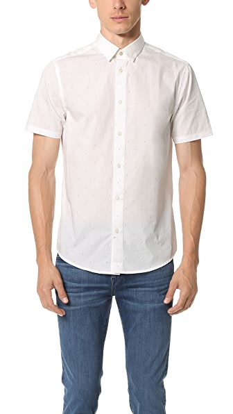 Ben Sherman Printed Short Sleeve Shirt