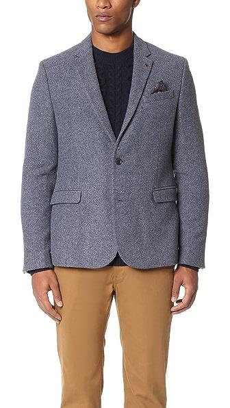Ben Sherman Wool Donegal Blazer