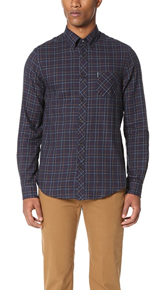 Ben Sherman Tattersall Check Shirt