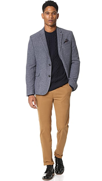 Ben Sherman Cable Knit Sweater