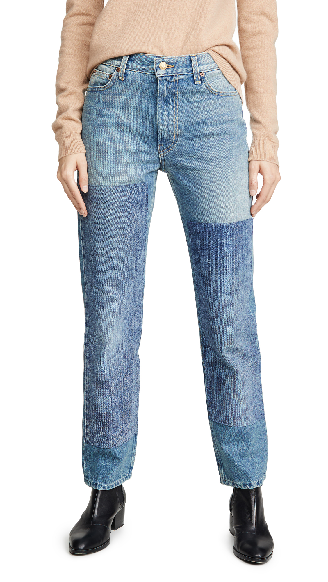 Buy B Sides online - photo of B Sides Arts Mid High Straight Jeans
