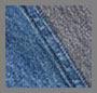 Blue Tracing Grey Halfsie