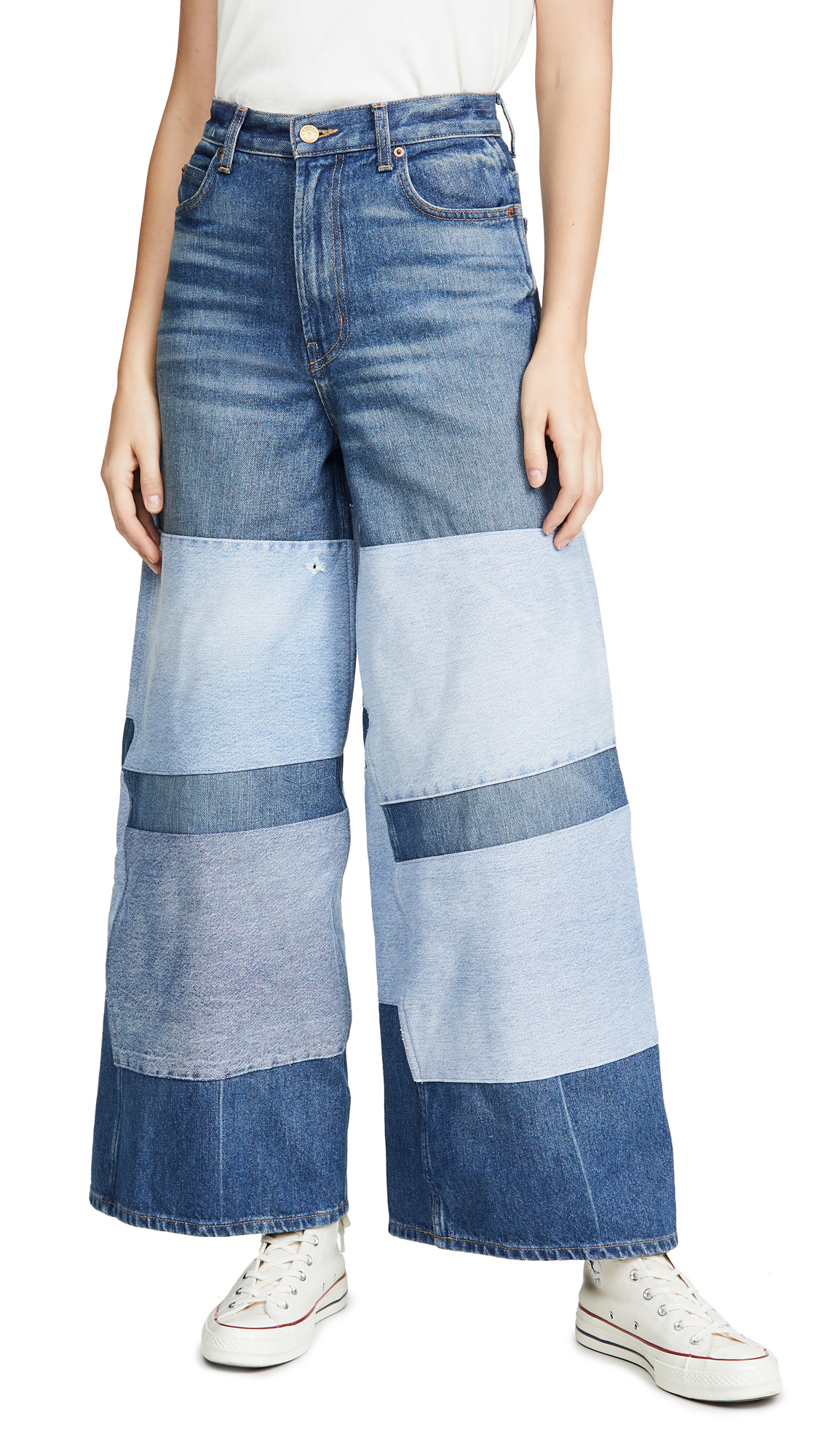 Buy B Sides online - photo of B Sides Claude High Flare Jeans