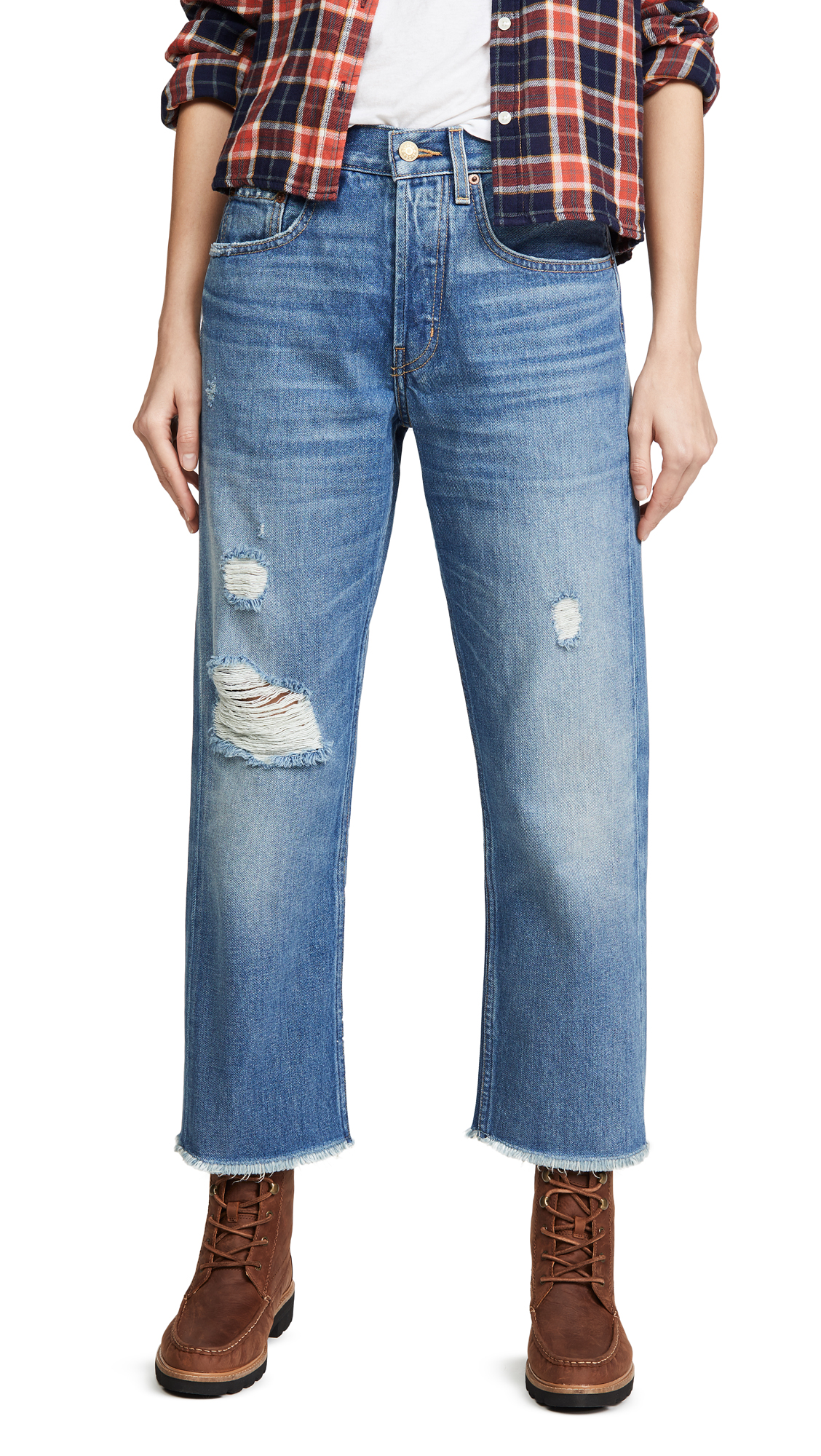 Buy B Sides online - photo of B Sides Marcel Relaxed Straight Jeans