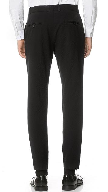 Brooklyn Tailors Tonal Seersucker Trousers