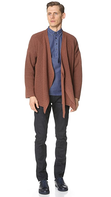 Brooklyn Tailors Mesh Weave Popover