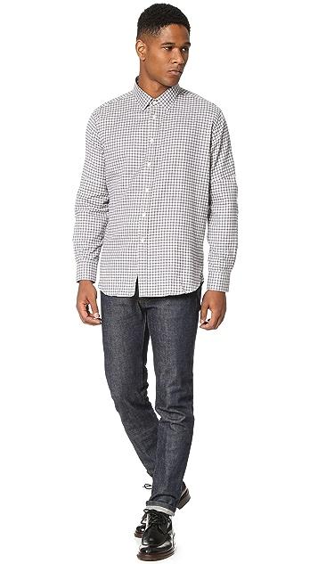 Brooklyn Tailors Soft Brushed Check Dress Shirt