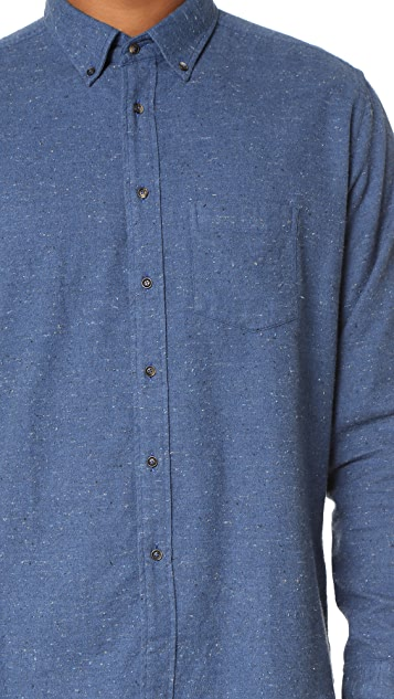 Brooklyn Tailors Nubbed Flannel Sport Shirt
