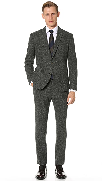 Brooklyn Tailors Donegal Fleck Unstructured Jacket