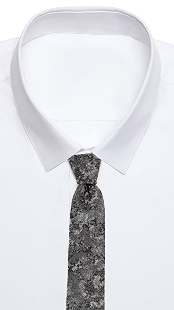 Brooklyn Tailors Abstract Shapes Necktie