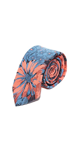 Brooklyn Tailors Floral Necktie