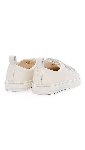 buddy Bull Terrier Low 3 Strap Sneakers