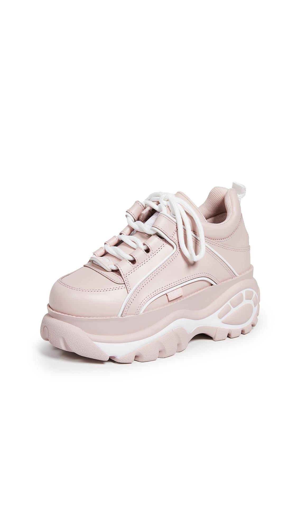 Buffalo London Classic Kicks Sneakers - Baby Pink