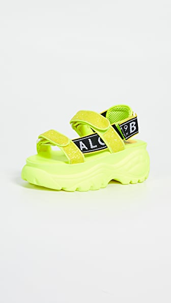 3d3c3bab062 Ella Classic Kicks Sandals in Neon Yellow