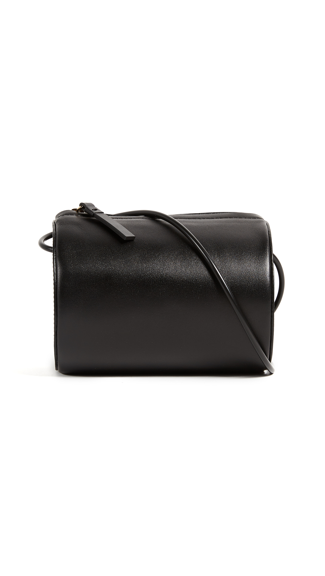 Building Block Cylinder Bag - Black