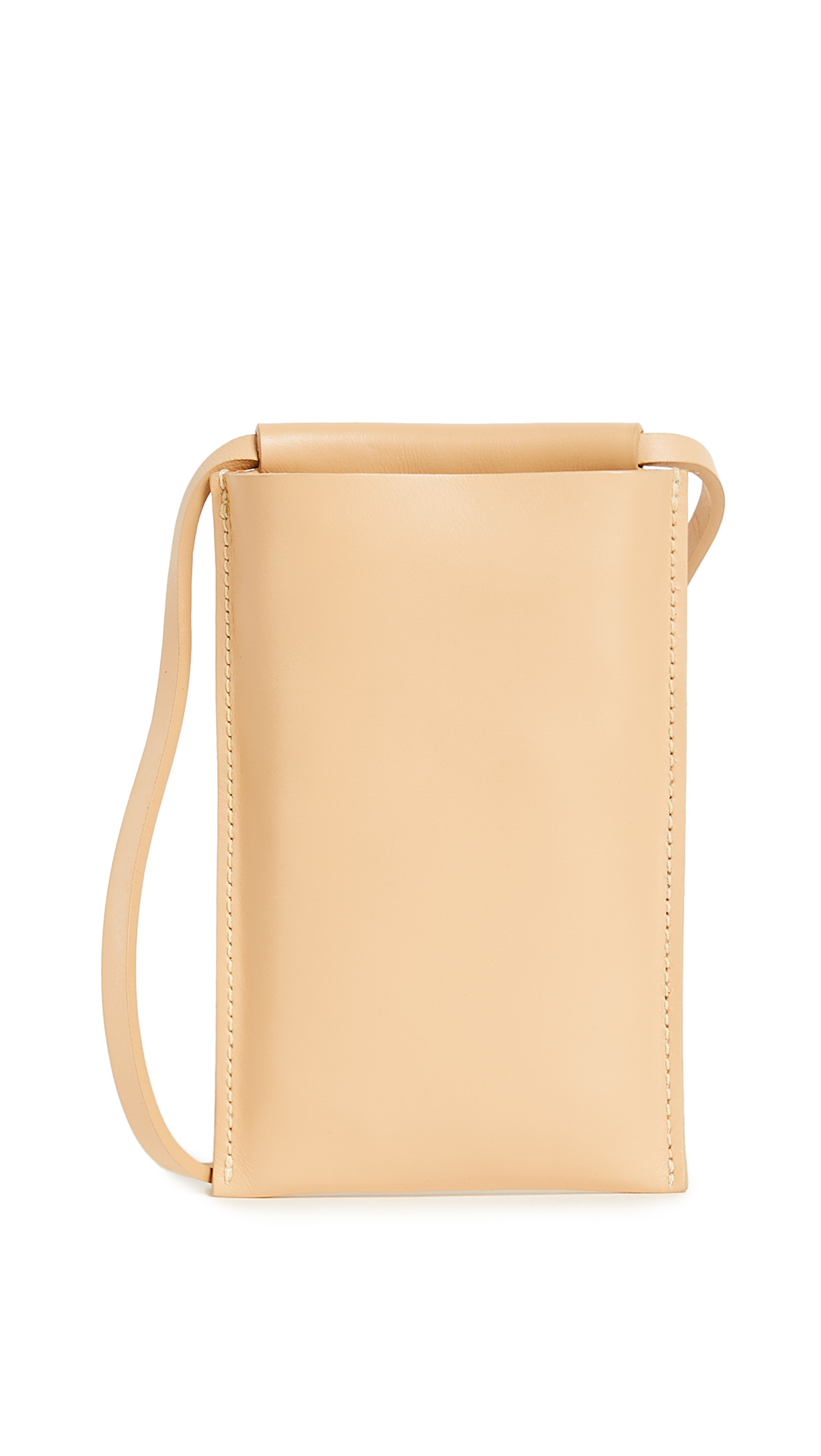 Building Block Phone Sling - Nude