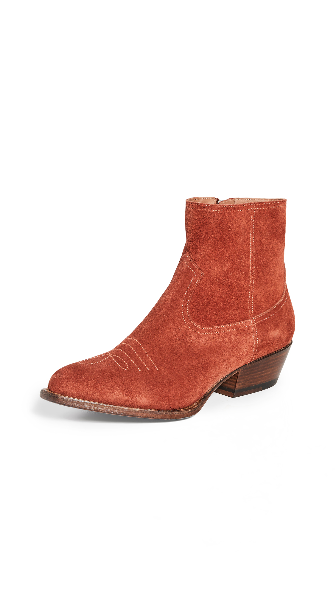 Buy Buttero online - photo of Buttero Tres Suede Booties