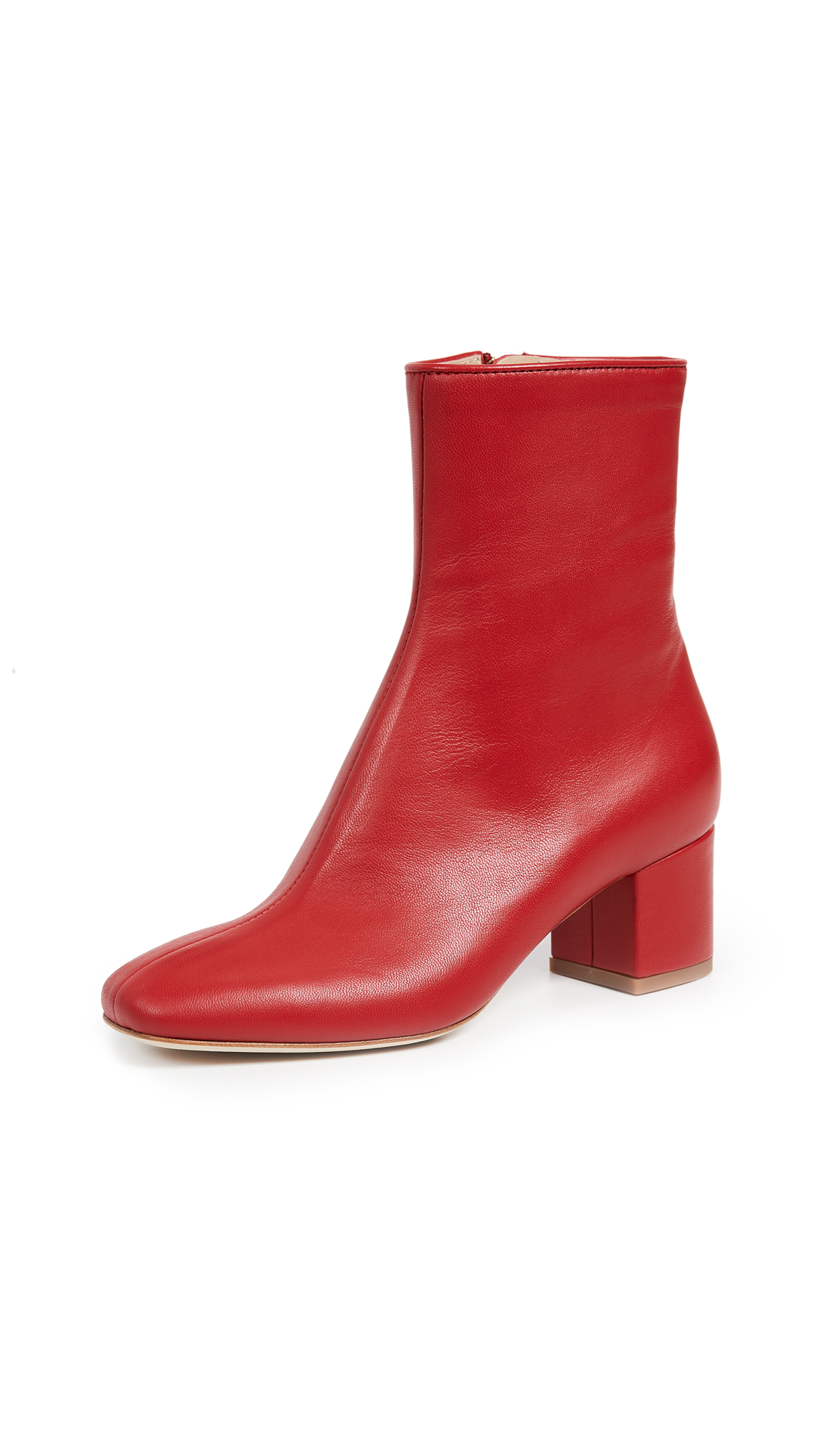 BROTHER VELLIES Kaya Booties in Red
