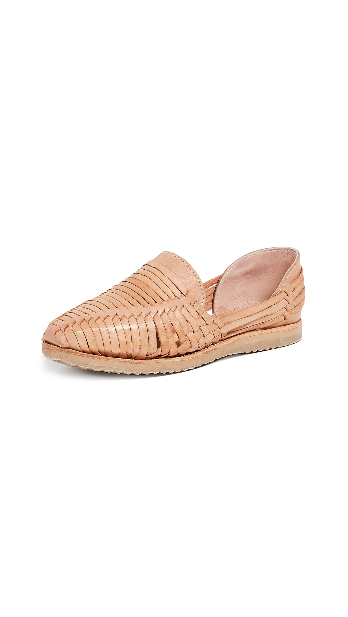Brother Vellies Huaraches Flats - Whiskey