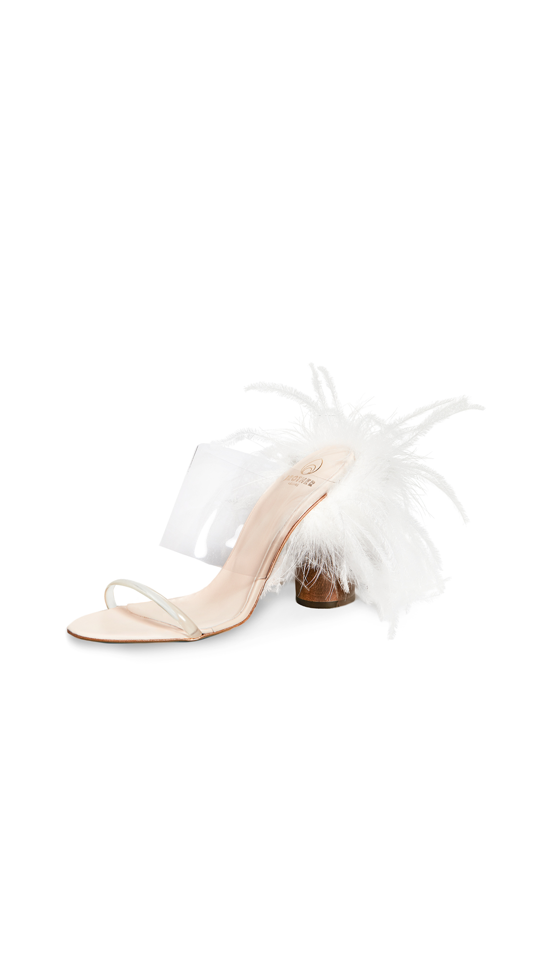 Buy Brother Vellies online - photo of Brother Vellies Bianca Mules