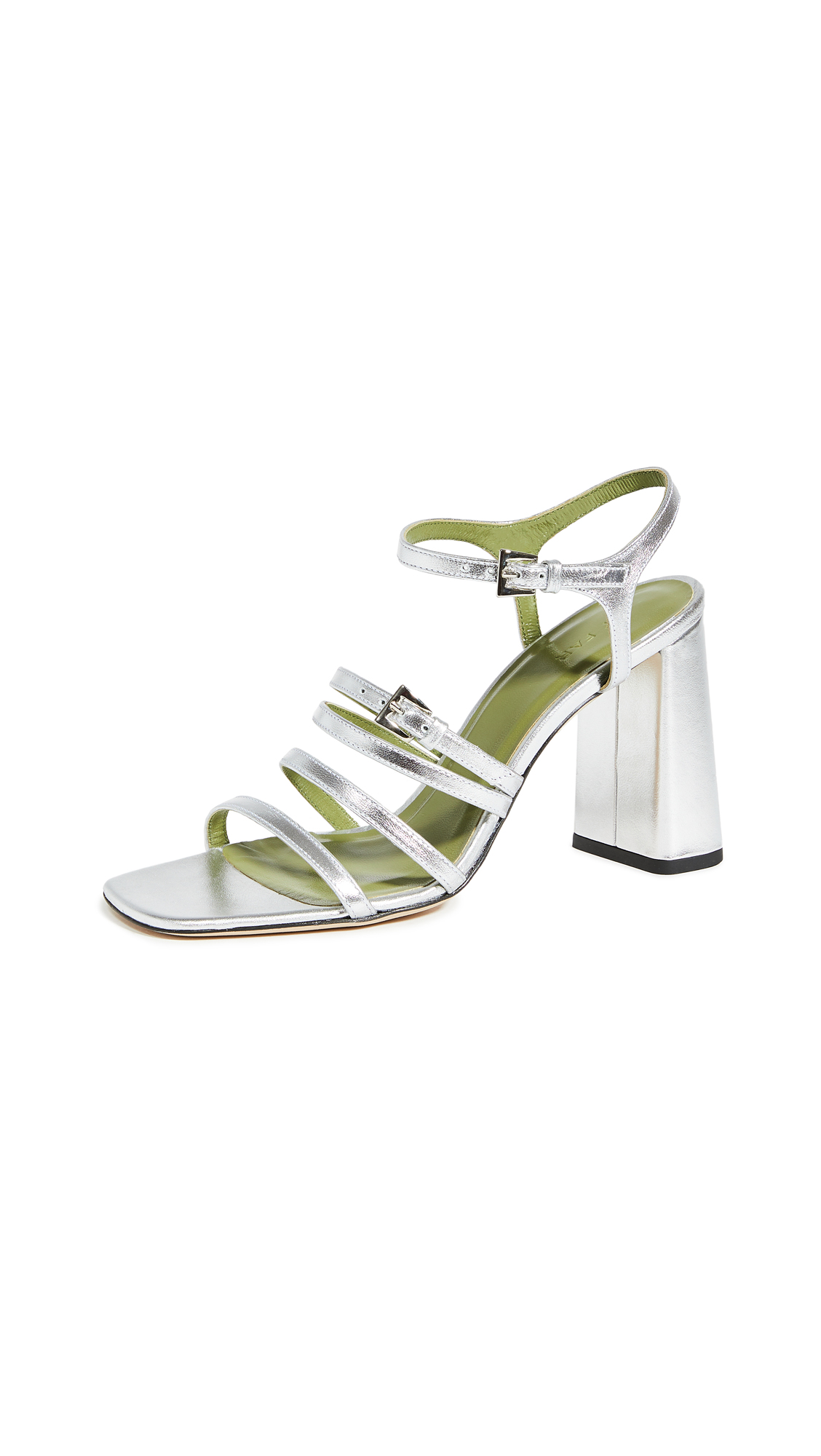 Buy BY FAR Goldie Sandals online, shop BY FAR