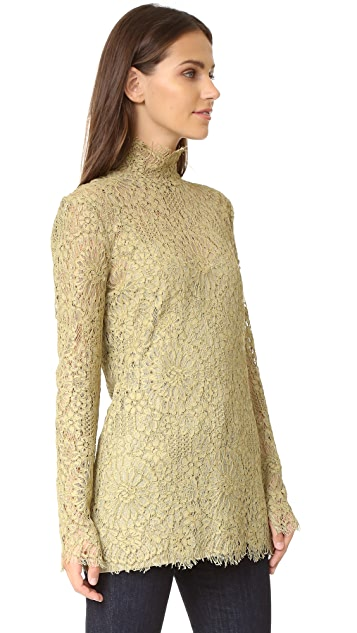By Malene Birger Solar Lace Blouse