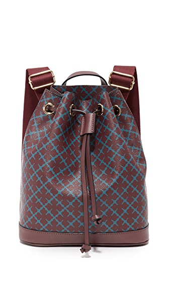 By Malene Birger Cadena Backpack - Deep Ruby at Shopbop