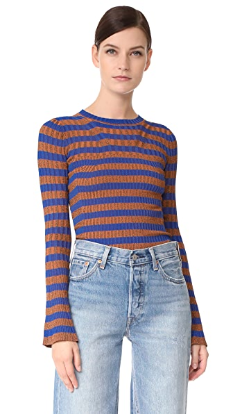 By Malene Birger Blonde Sweater - Surf The Web