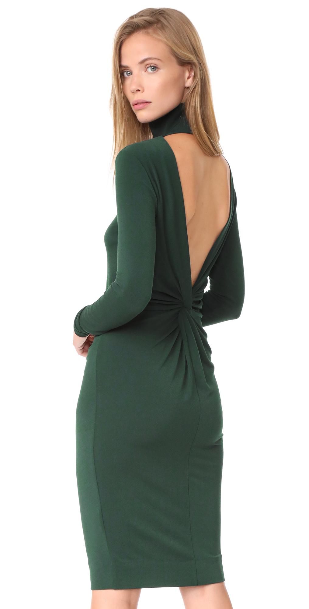 Tirio Open Back Dress By Malene Birger
