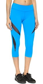 Double Panel Mesh Capri Leggings                Beyond Yoga