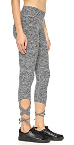 Space Dye Wrap Tie Legging                Beyond Yoga